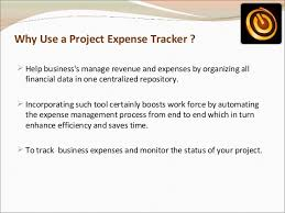 Project Expense Tracking Solution