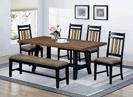 Coaster Waller Rectangular Dining Table With Rustic Wood