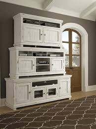 distressed white furniture. Beautiful White Wood Furniture Casual  Entertainment P610 Willow  Distressed White  Finish Progressive Furniture Inside M