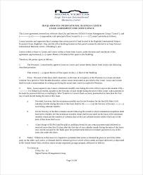 Commercial Lease Agreement Sample Mesmerizing Sublease Contract 48 Free Word PDF Documents Download Free