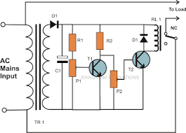 wiring circuit high and low mains voltage cut off circuit that s common problem associated our input mains ac line where a high and a low voltage conditions are quite frequently encountered by