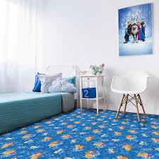 kids collection frozen cuts carpet
