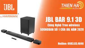 Soundbar JBL Bar 9.1 3D - True Wireless - Âm Thanh Vòm Sống Động - Soundbar  Số 1 Của JBL - YouTube