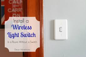 wireless closet lighting. how to add a wireless light switch closet lighting