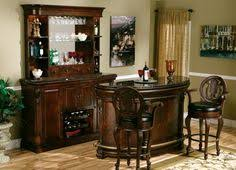 Furniture Mini Custom Wooden Home Bar Painted Furniture Bistro