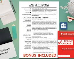 Resume Template Ideas Classy Resume Template With A Cover Letter And References Template Get A