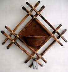 Small Picture DIY bamboo wall decor ideas 2 craft projects with bamboo sticks