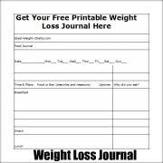 Charts Jounals And Calendars To Maintain And Achieve Ideal Body Weight