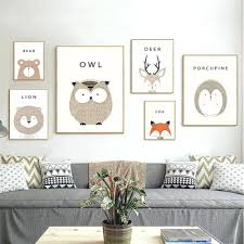 >explore photos of owl framed wall art showing 7 of 20 photos  baby nursery framed wall art nursery art prints owl cartoon with regard to most popular owl
