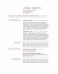 Impressive Resume Templates Extraordinary R Sample Resume Job Resume Templates Job R No Experience Resume