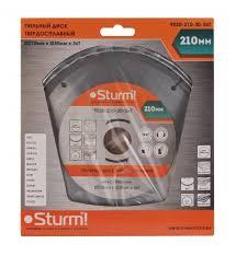 <b>Пильный диск Sturm</b>! <b>9020</b>-<b>210</b>-<b>30</b>-<b>36T</b> 210х30 мм — купить по ...