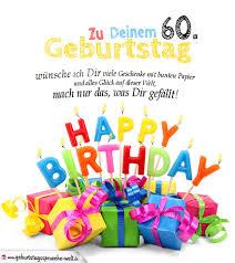 Geburtstagskarten Zum Ausdrucken 60 Geburtstag Geburtstagssprüche