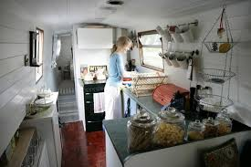 Small Picture Cozy kitchen on houseboat Also love the closet organization in