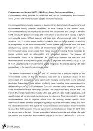 arts environmental history essay arts environment  arts 1240 environmental history essay