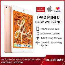 Máy Tính Bảng Apple iPad Mini 5 Wifi 64G, Màn hình 7.9 inch, Hàng chính  hãng Apple, Bảo hành 12 tháng, nguyên seal, mới 100% (Chưa Kích Hoạt) -  Shopdunk giá rẻ 9.750.000₫