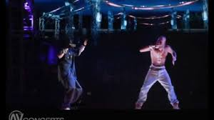 how tupac hologram works tupacs hologram how it works youtube