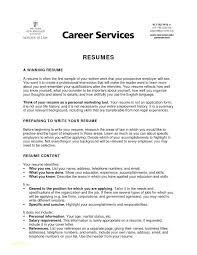 Resume For Law Students