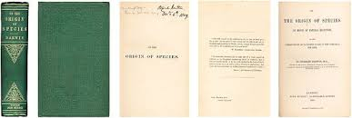 """essay digging for first editions of charles darwin s """"on the  illustration reproduced permission from john van wyhe ed the complete work of charles darwin online"""