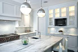 kitchen glass tiles backsplash white glass tile kitchen contemporary with bread box breakfast bar image by