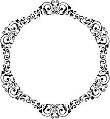 antique picture frames vector. Ornamental Dividers Collection Antique Picture Frames Vector