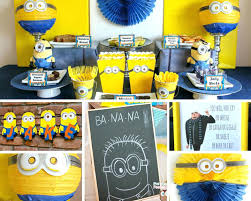 minion themed birthday party india ideas in a box despicable me decorations