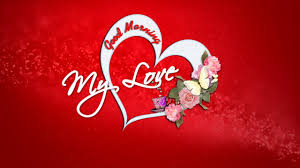 Good Morning My Love Have A Nice Day