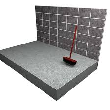 handsaw can be used to trim the shower tray to trim to size but equal distances from both sides should be cut to preserve proper fall towards the drain