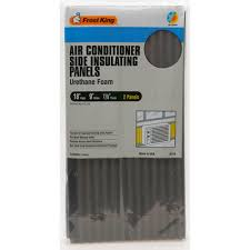 foam insulating side panels for air conditioners 2 pack ac14h the home depot