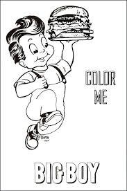 Menu Coloring Pages Restaurant Verfutbol