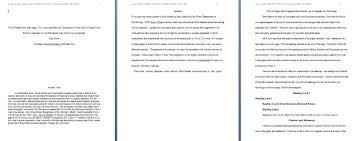 Apa Format Essay Example Paper 10 Apa Format Essay Etciscoming