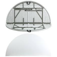 72 round folding table great round folding table with round bi fold granite white plastic folding