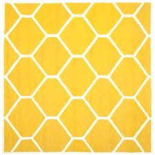 good square pattern rug or get ations a handmade geometric pattern gold ivory wool rug 8