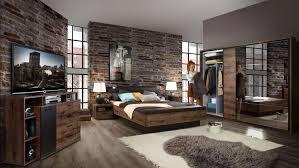 Schlafzimmer Komplett Set Schlafzimmer Set Oslo In Kiefer Massiv