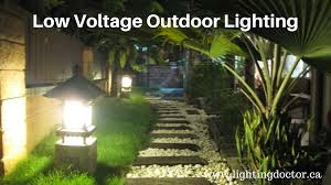 cost efficient low voltage outdoor lighting canada it is the best way to reduce darkness