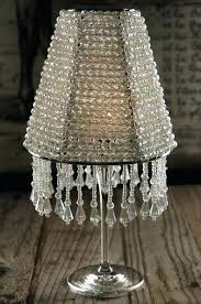 lamp shade candle holder lamp shade candle the majestic crystal wine glass lampshade 12 lampshade tealight