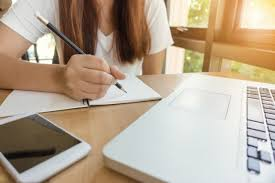 essay kid writing for college admission