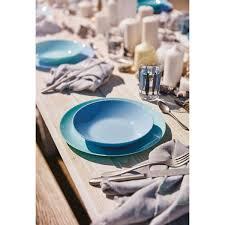 <b>Тарелка обеденная Luminarc</b> Diwali Light Blue М0021, 25 см в ...