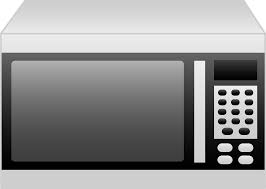 microwave clipart black and white. microwave oven vector clipart black and white