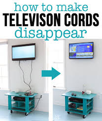 Using an inexpensive kit will let you easily hide cords and exposed wires  coming from a