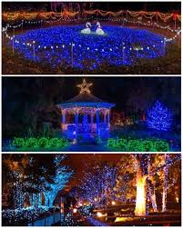 Christmas Lights In Savannah Georgia December Nights Holiday Lights Coastal Georgia Botanical
