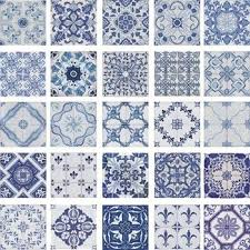 Blue And White Decorative Tiles Portuguese Traditional Decorative Hand Painted Ceramic Tiles 6