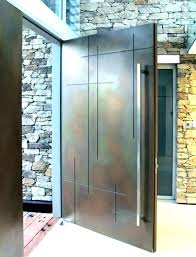 glass panel exterior door luxury modern glass front door or modern glass entry door modern front