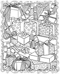 Small Picture Coloring Page Free Christmas Coloring Pages For Adults Coloring
