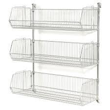 interior impressive wall mounted wire baskets elegant stylish rack best 25 creative storage 6
