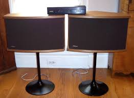 bose 901 vintage. vintage bose 901 series vi speakers modern pedestal bases equalizer e