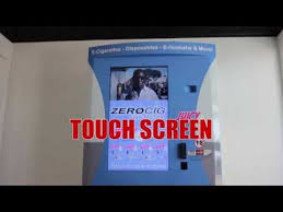 E Liquid Vending Machine Interesting E Cigarette Vending Machine By ZEROCIG Vending YouTube