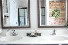 large size of mirror nautical bathroom powder room mirrors wall mounted unique black framed vanity mir