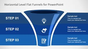 Sales Ppt Template Free Flat Funnel Powerpoint Template