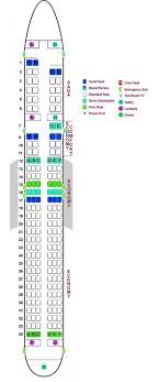 Boeing 757 Seating Chart Us Airways Icelandair Seating Chart Seating Chart