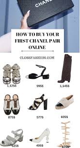 Chanel Ballerina Flats Size Chart A Guide For Your First Chanel Shoes Sizing Fitting